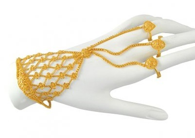 Bridal Gold Ring Bracelet Savory Jewellery